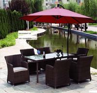 Outdoor garden patio wicker PE rattan furniture