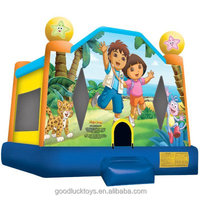 inflatable Dora and Diego Jump Bounce House /inflatable bouncer