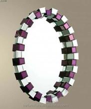 muti color 3D wall mirror decoration