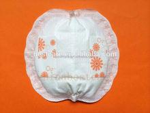 flower-shaped disposable nursing pads lightness armpit pad