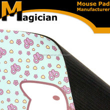 Best seller mouse pad polyester with rubber foam