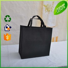 black nonwoven message bags/large style nonwoven bags/2012 non woven advertasing shopping bags