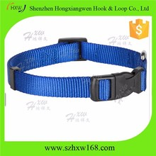 Pet Products Round Nylon Blue Choke Collar for Dogs