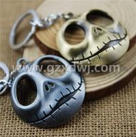 Fashion Movie bone alloy key chain charms bulk wholesale in Guangzhou fashion charm key chain