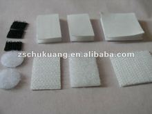 Adhesive hook and loop dots/square/rectangle
