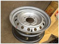 High quality black toyota hiace vossen replica wheel rim