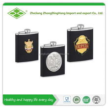 7oz high quality wholesale stainless steel hip flask