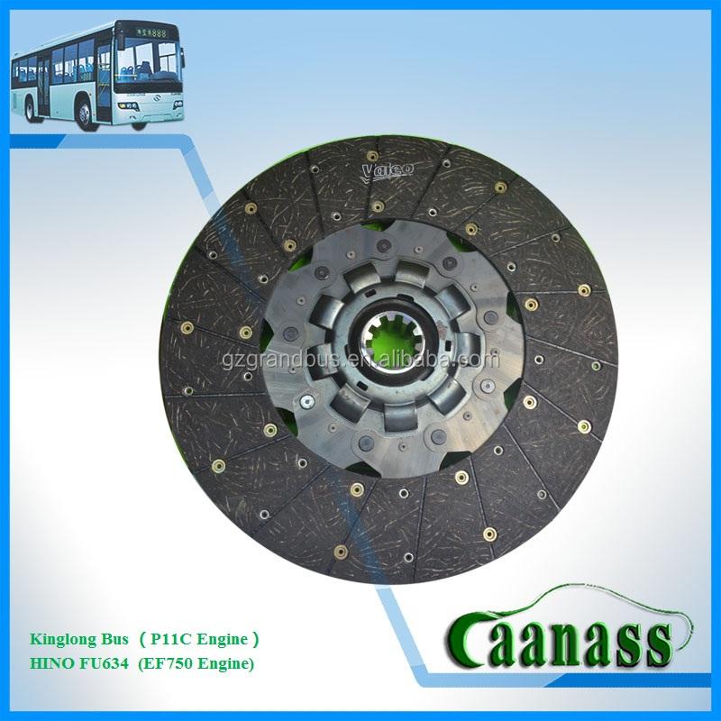 China atacado hino, kinglong fricção da transmissão 841384 disco de embreagem valeo