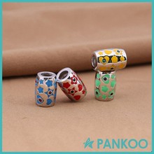 Fashion Jewelry Silver Enamel Custom Good Luck Charms