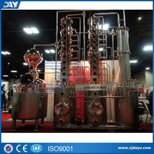 500L Hot sale Vodka still with reflux column, copper still, copper distiller with vodka column