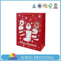 Art Paper dot paper gift bag/wedding dress gift bag/teal gift bags for Shopping