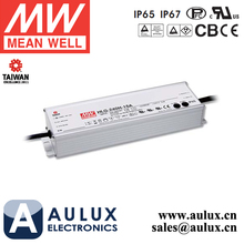 Meanwell 240W 12V LED Driver HLG-240H-12B IP67 Dimmable 7 Years LED Power Supply
