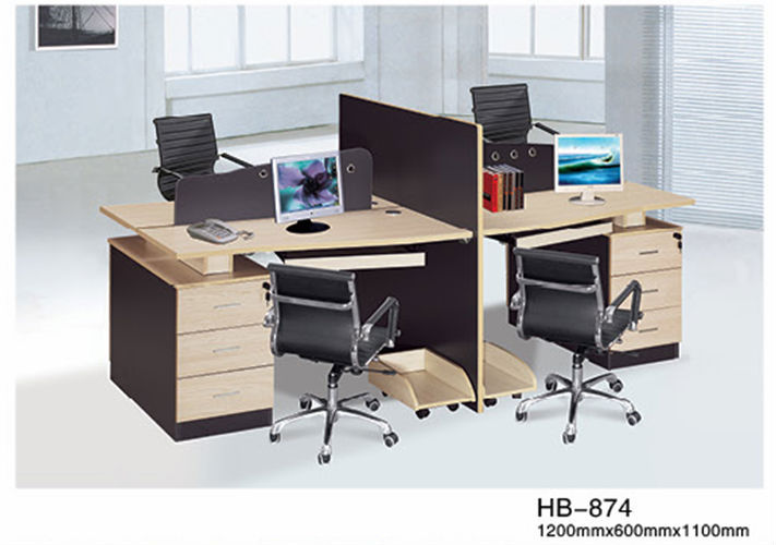 Les plus populaires style bureau cabine 4 places poste de for Bureau 3 places