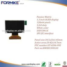 1.3 mini oled display 128x64 KWH0130UL01