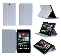 Lightweight Premium PU Leather Smart Cover Multi-Angle Stand Case for Sony Xperia Z3 Tablet Compact