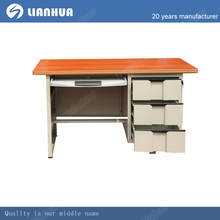 hot sell cheap latest office table,MFC and metal material table,simple design