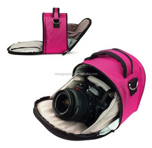 Portable DSLR Camera Carrying Bag for Small Action Camcorders and Accessories