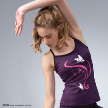 Yoga wear women racerback top