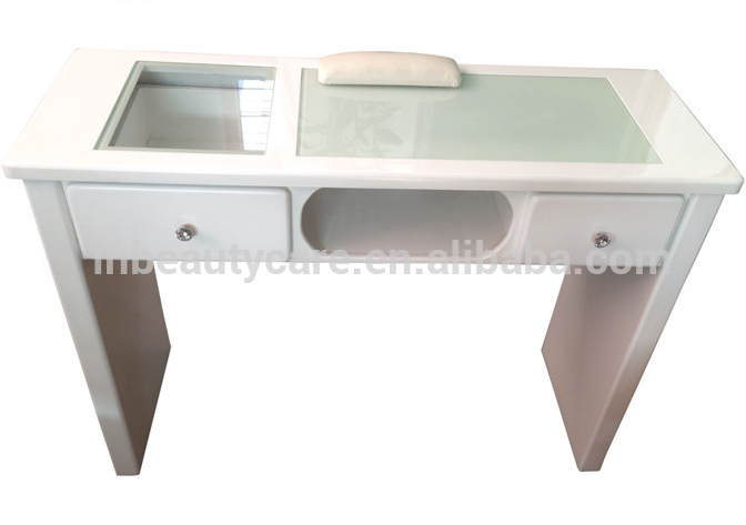 Wholesale Europe Style Cheap Led Light Nail Tables Station