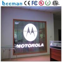 Leeman Group led glass transparent led display screen alibaba express transparent led glass display screen