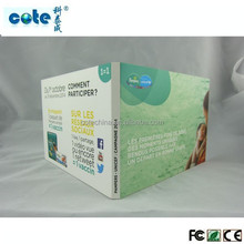 5 inch video card for product advertising/festival greeting/commemorate/invitation with high quality