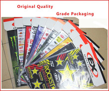 free design specialized decorative sticker for KAWASAKI/YAMAHA/SUZUKI/HONDA