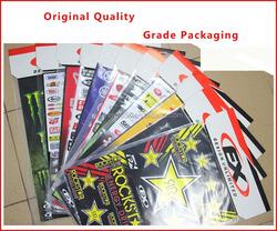 free design specialized decorative sticker for KAWASAKI/YAMAHA/SUZUKI/HONDA
