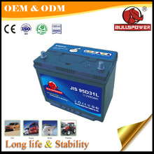 Made in china maunfacturer best price 12V 90Ah car battery n90