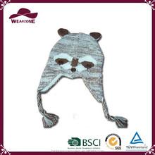 Alibaba China supplier children funny winter warm hat