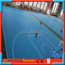 easy maintenance price court floor basket ball hot sell