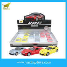 1:32 Pull Back Die-cast Car With Light And Music ,display box package YX001119