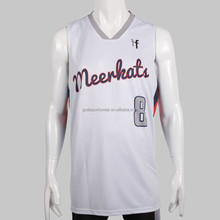 Best quality dri fit custom sublimated latest basketball jersey design