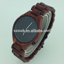2015 Eco-friendly Natural handmade wooden watch for men and women with customised logo, fashion wristwatch