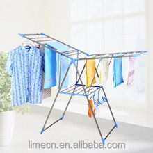 Iron Pipe And Plastic Double Rail clothes drying hanger
