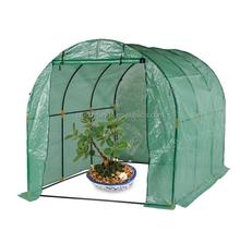 LG-HD4028 Yongkang LanGe steel and PE Tunel garden greenhouse