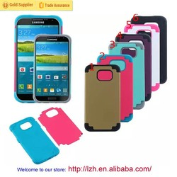 S6 Hybrid Cell Phone Case, Protective Back Cover for Samsung Galaxy S6 G920