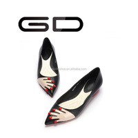 2015 fashion ladides casual dress flat shoes with reasonable price