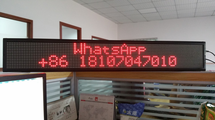 Double LED sign (4)