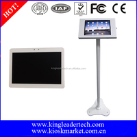 Best and Cheap 10.1 Tablet With Locking Metal Floor Stand Tablet Stand