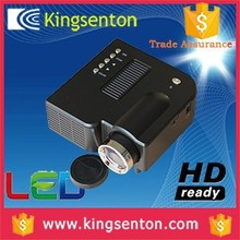 For sony mini projector 50 ansi lumens 320*240 resolution with HDMI, VGA, Headset, AV in, USB, SD