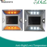 Road Safety Pavement Reflector Aluminum IP68 led dock edge light