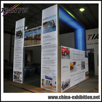 china hot sale portable fashion design trade show booth