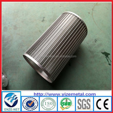 alibaba china supplier flat welded screen/screen support grids/wedge wire screen cylinders
