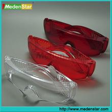 2015 Best Dental Seller Anti-Fog / Anti-Rays Dental Protective Goggles / Protection Glasses DMF01