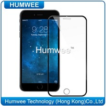 Full Size 2.5D Curved Edge Best Tempered Glass Screen Protector For iPhone 6 / 6 Plus Thin Border