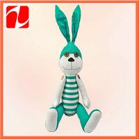 30cm stuffed mini long legs rabbit wholesale plush toys