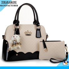Fashion hand bag woman 2015 lovely hand bag and clutch bag wholesale china
