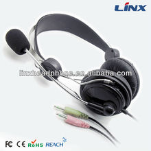 Headphone with mic. for computer LX-T01