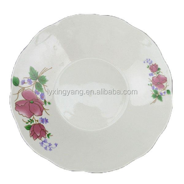 various certificates ceramic plate, cheap porcelain plate,dinner plates dishes