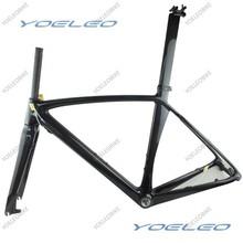 2 años de garantía BSA / BB30 Compatible con DI2 Durable de carbono de China disco para bicicleta de carretera